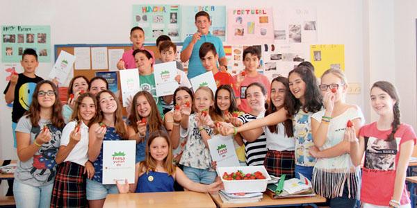 Fresayunando acogida con éxito en los colegios.