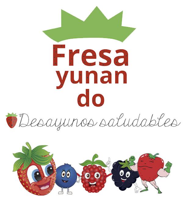 Logo Fresayunando con frutas