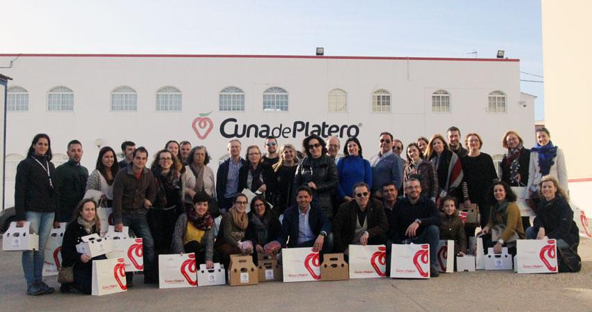 Berrycatessen despierta el interes de nutricionistas andaluces