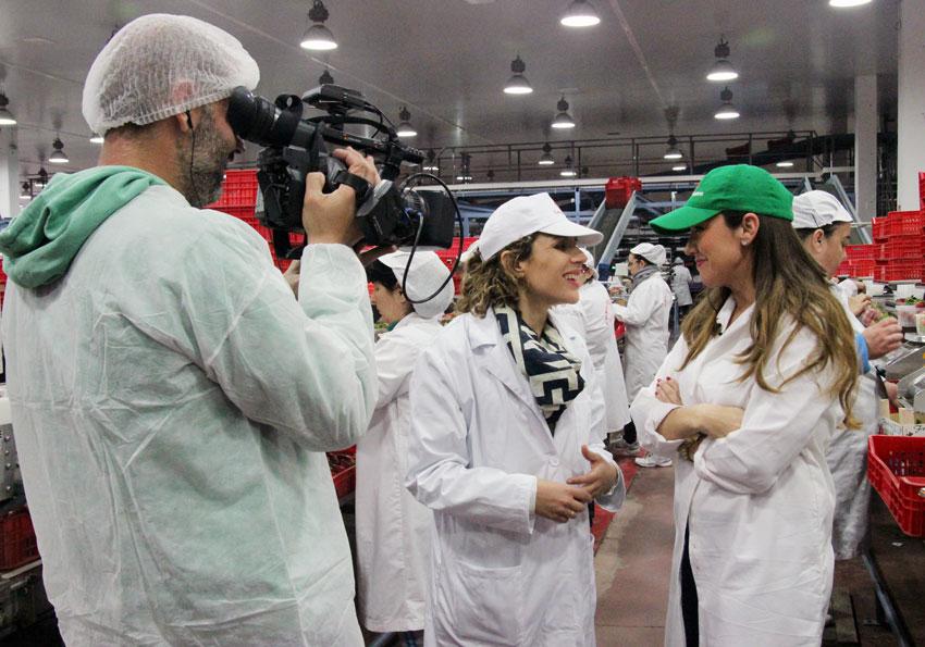 Canal Sur TV visita las instalaciones de Cuna de Platero