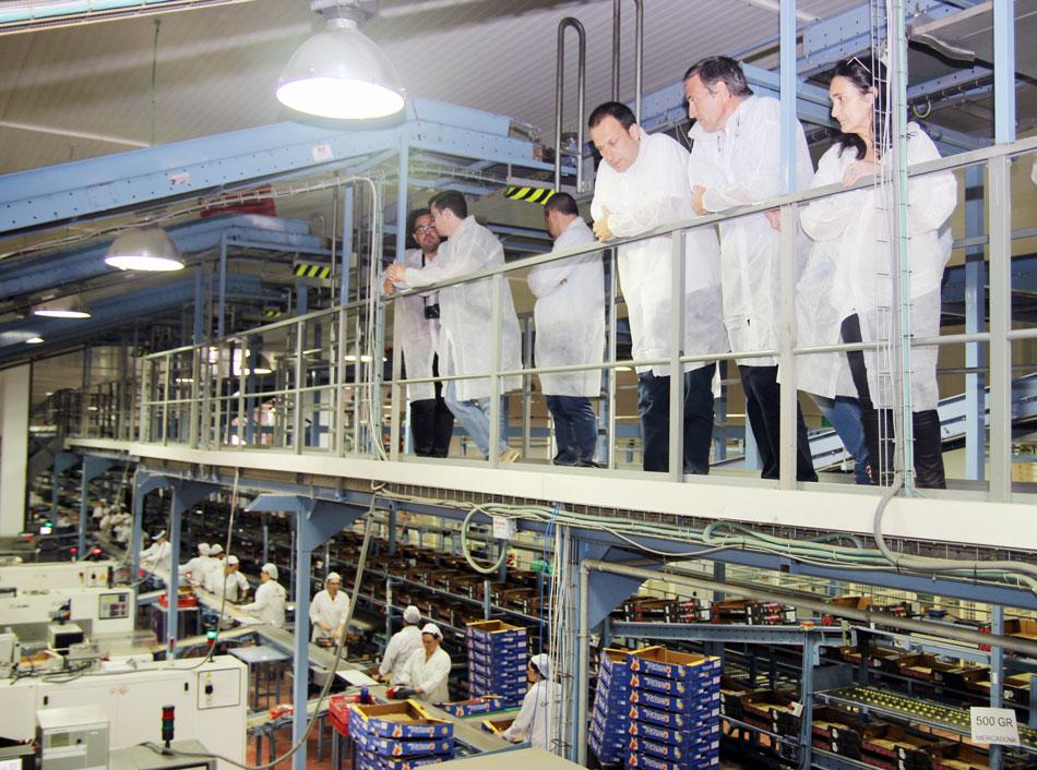 El empleo medio de la cooperativa de Moguer Cuna de Platero tiene una media anual de 2700 empleos