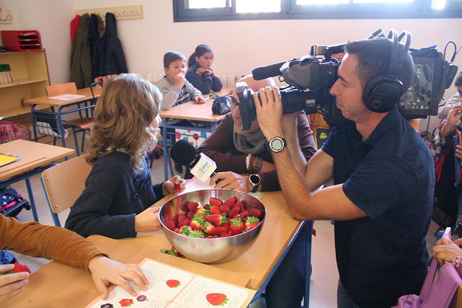 Cuna de Platero, protagonista de un reportaje de 'Salud al Día' sobre el consumo de berries y Moguer