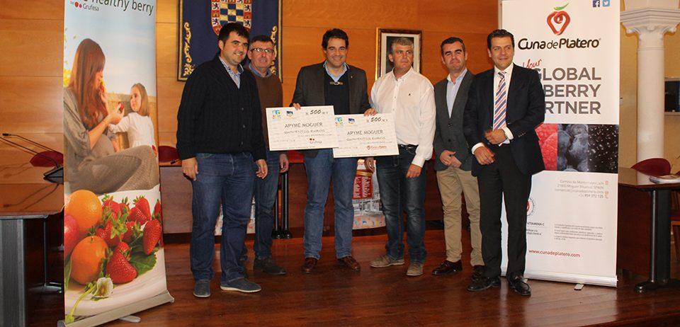 Cuna de Platero apoya al comercio local con el patrocinio de la campaña de Navidad de Apyme-Moguer