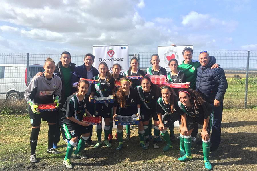 Las berries de Cuna de Platero están presentes en el Campeonato de España de Fútbol Femenino