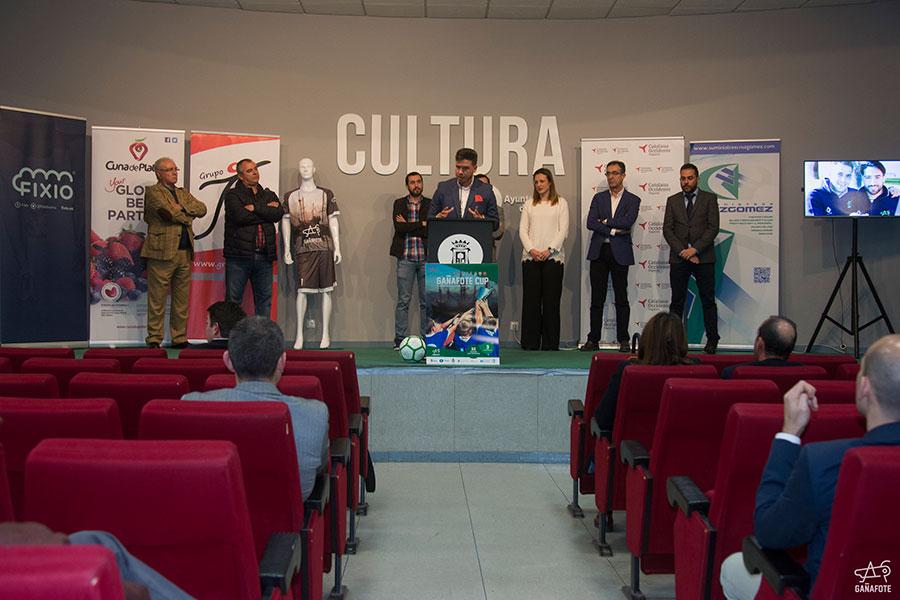 """Cuna de Platero patrocina el torneo internacional de fútbol de categorías inferiores """"Gañafote Cup"""""""