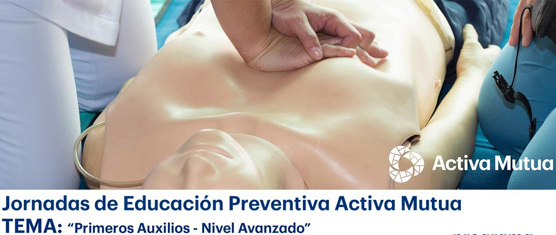 Los socios de Cuna de Platero reciben formación de primeros auxilios y educación preventiva