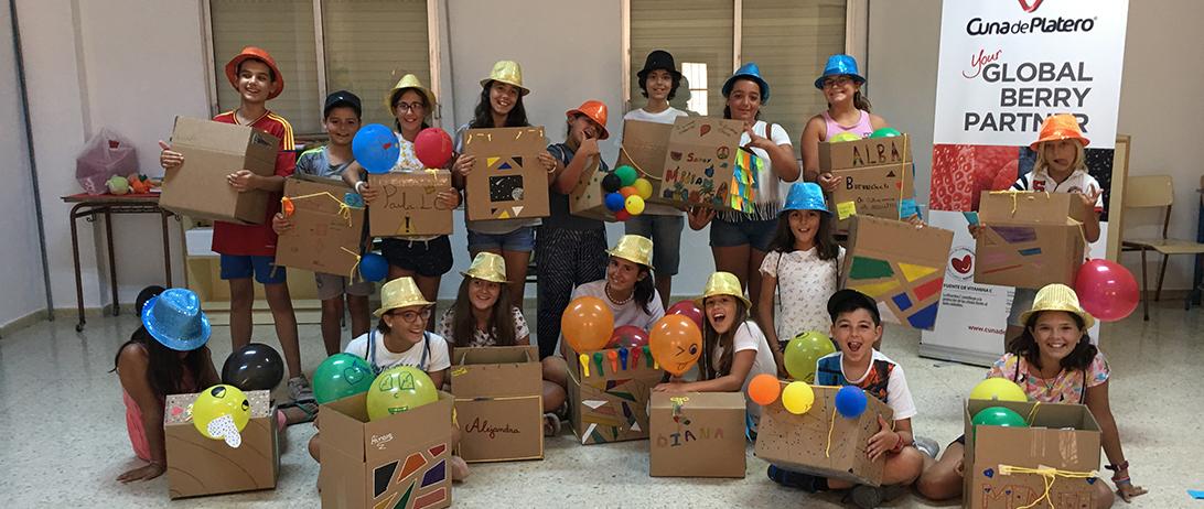 Cuna de Platero clausura el II Campamento de Inteligencia Emocional con la participación de 72 niños