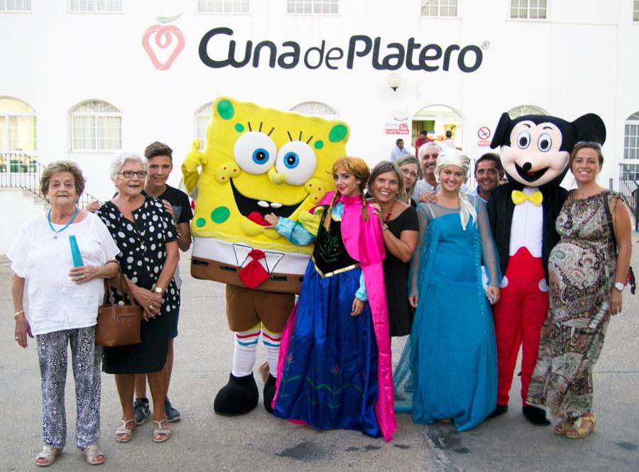 Cuna de Platero celebra una jornada de convivencia con más de 150 niños de socios y trabajadores