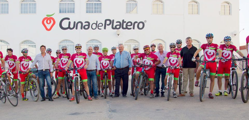 Cuna de Platero renueva su compromiso con el Club Ciclista Platero de Moguer