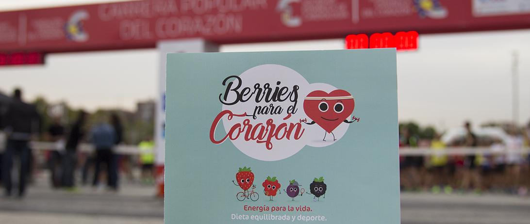 Las berries de Cuna de Platero, en la VIII Carrera Popular del Corazón de Madrid