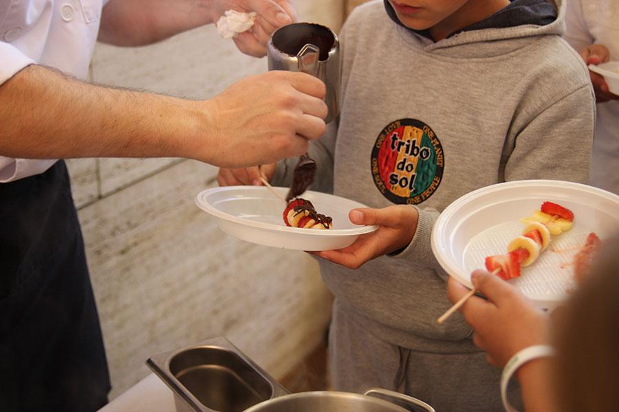 Los frutos rojos de Cuna de Platero protagonizan la demostración culinaria de la II jornada de salud 'Activando Huelva'