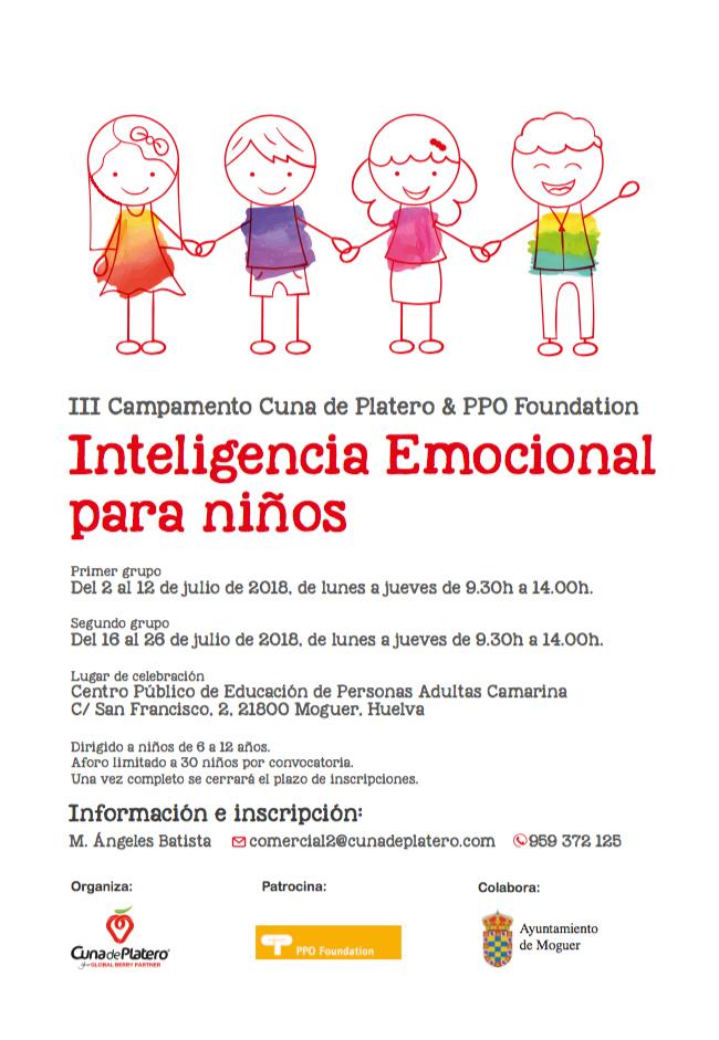 Cuna de Platero pone en marcha su III campamento de verano de Inteligencia Emocional