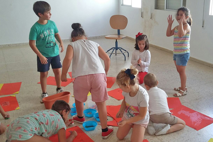 Cuna de Platero clausura su III campamento de verano de Inteligencia Emocional