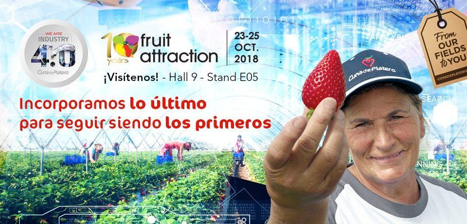 Cuna de Platero presenta en Fruit Attraction su apuesta por la transformación digital y la industria 4.0