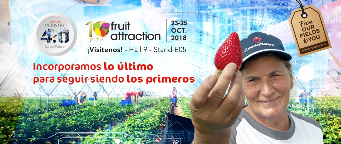 Cuna de Platero presenta en Fruit Attraction su apuesta por la transformación digital y la industria 4.0