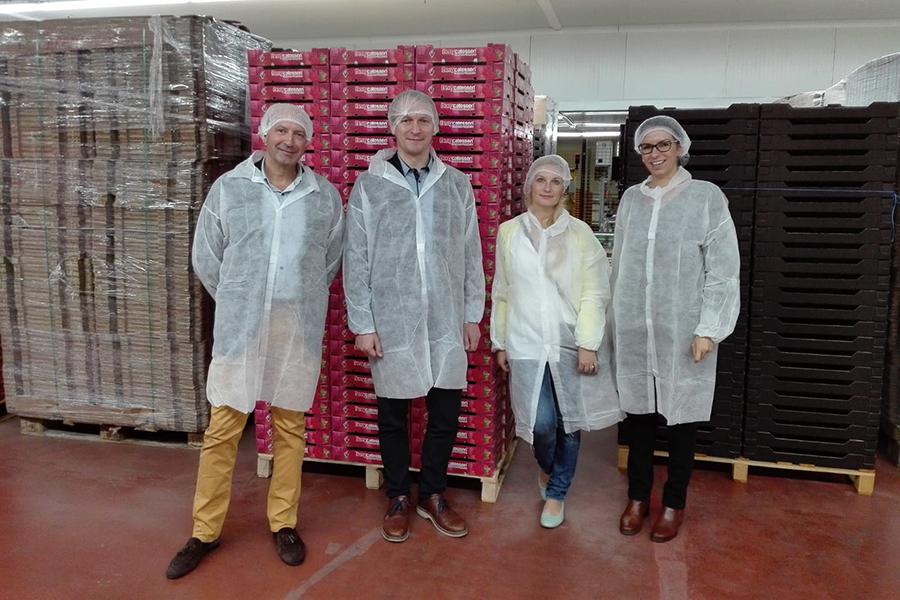 Cuna de Platero recibe la visita de dos profesores universitarios de Lituania