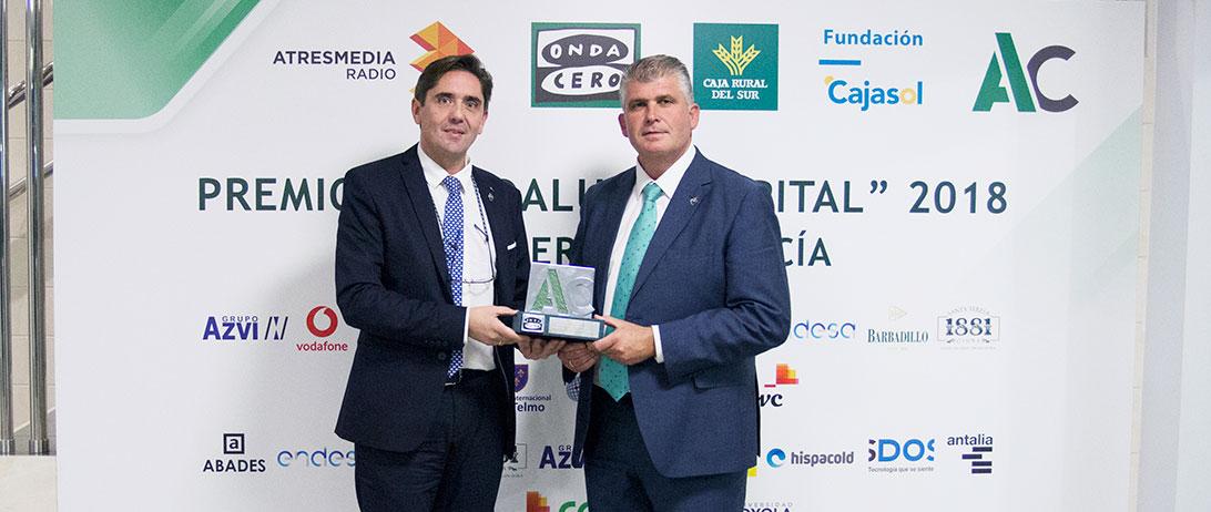 """Cuna de Platero recibe el premio """"Andalucía Capital a la Internacionalización"""" de Onda Cero Andalucía"""