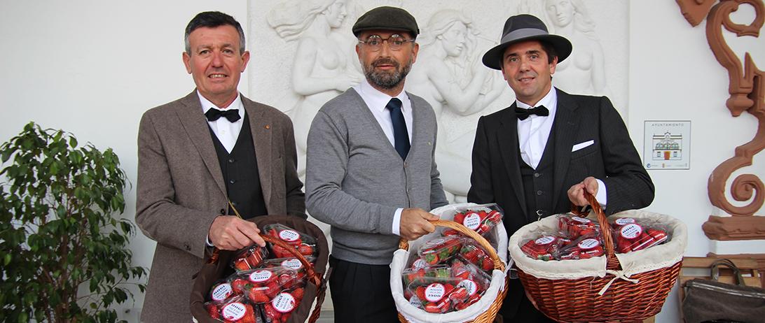 Las fresas de Cuna de Platero vuelven a ser protagonistas de la Feria 1900 de Moguer