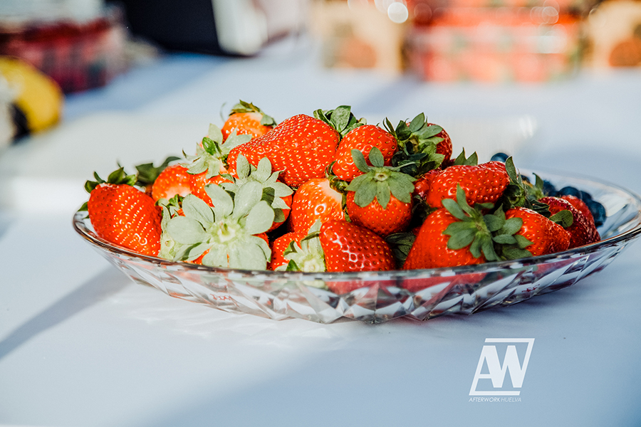 Los frutos rojos de Cuna de Platero, ingredientes del I Afterwork Huelva