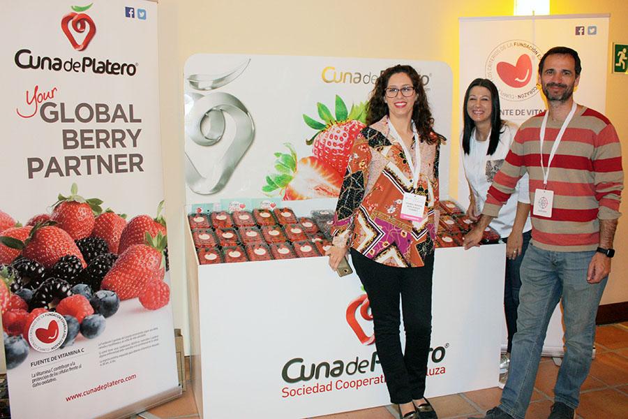 Frutos rojos de Cuna de Platero, en el 16º Congreso de la Sociedad Andaluza de Farmacéuticos de Hospitales y Centros Sociosanitarios