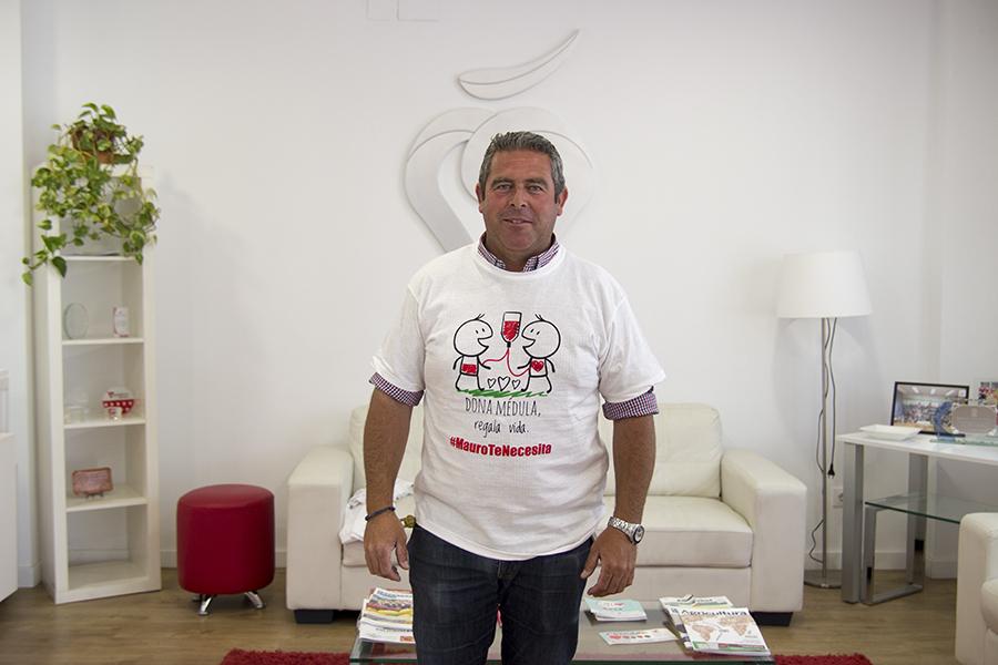 Cuna de Platero incentiva la donación de médula para Mauro