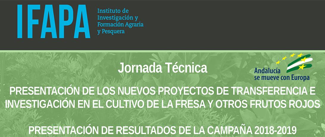 Cuna de Platero acoge unas jornadas del Ifapa sobre transferencia e investigación en berries