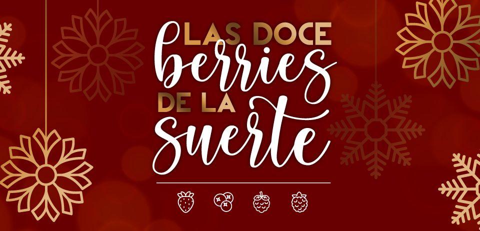 Los frutos rojos de Cuna de Platero, protagonistas de las campanadas en Moguer