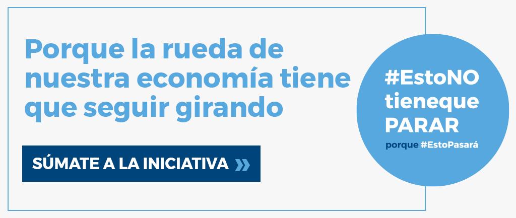 """Cuna de Platero se suma a la campaña nacional """"Esto no tiene que parar"""""""